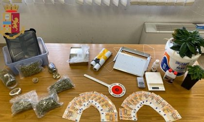 Spaccia marijuana e usa la droga per preparare pane e dolci: arrestato 26enne
