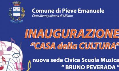 Inaugurazione della Casa della Cultura a Pieve