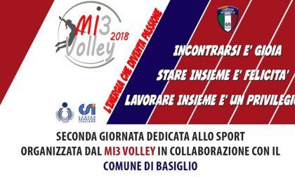 Seconda Giornata dello sport a Basiglio con MI3 Volley