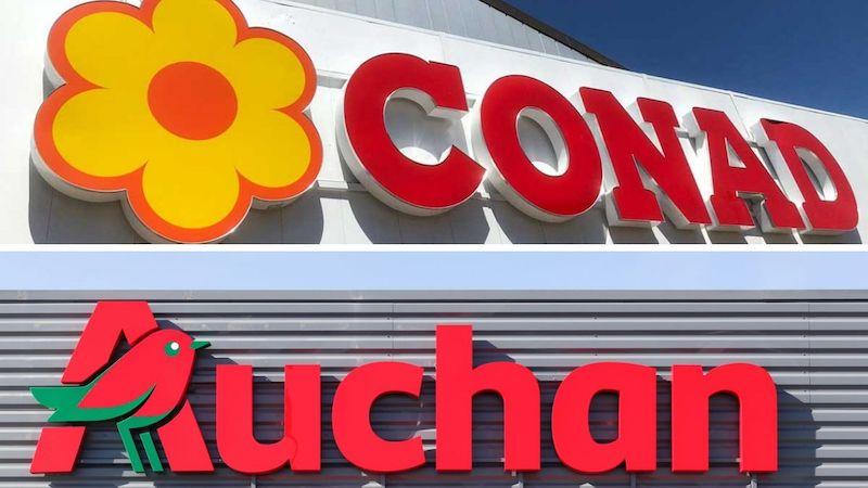 Lavoratori Conad Auchan licenziamento