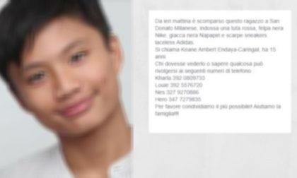 Ragazzo di 15 anni scomparso, è stato RITROVATO!