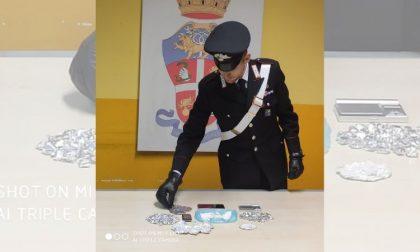 Ancora lotta allo spaccio: i carabinieri arrestano pusher di 23 anni