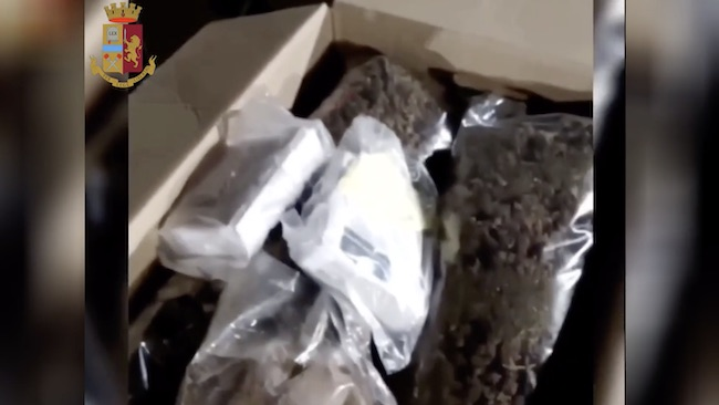 Sequestrati chili marijuana hashish