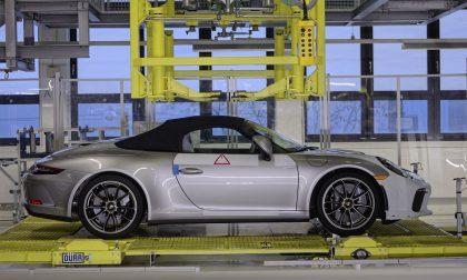 Porsche 911 Speedster, l'ultima vettura della generazione 991