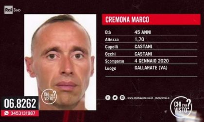 Si cerca Marco Cremona, scomparso da Gallarate