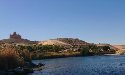 Il muso di un leopardo e pinoli: due reperti eccezionali scoperti nella Necropoli di Assuan