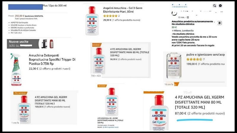 farmacie amuchina fobia coronavirus