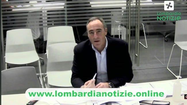 Coronavirus Conferenza Regione Lombardia