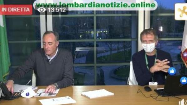 Lieve calo di contagi e ricoveri in Lombardia