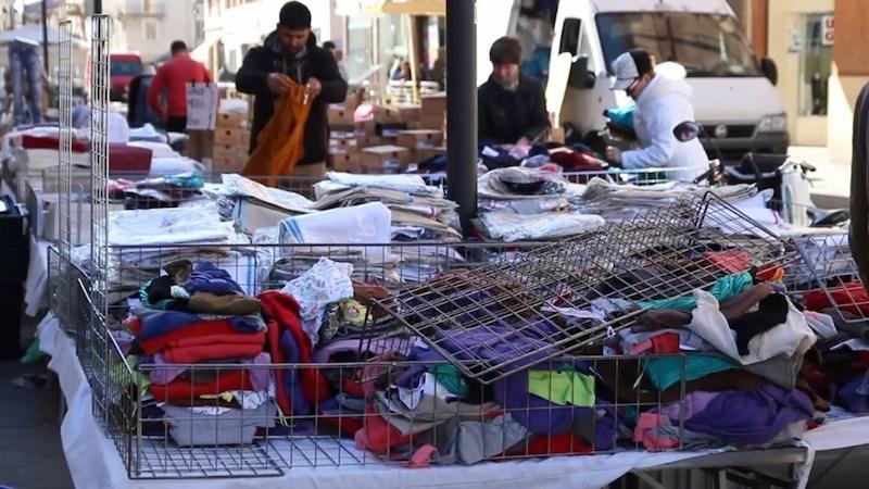 Coronavirus mercati sospesi Trezzano