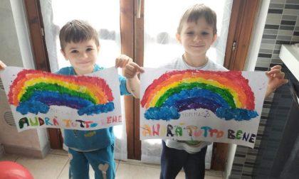 """""""Andrà tutto bene"""", l'arcobaleno che colora le nostre giornate spente"""