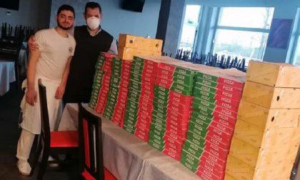 """Cento pizze donate all'ospedale San Paolo: l'iniziativa solidale de """"Il solito posto"""" FOTO"""