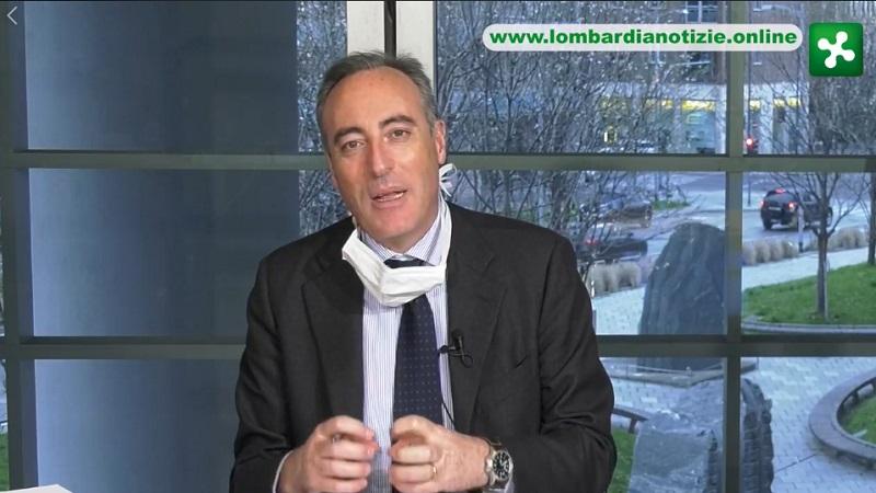 Conferenza Regione Lombardia Gallera