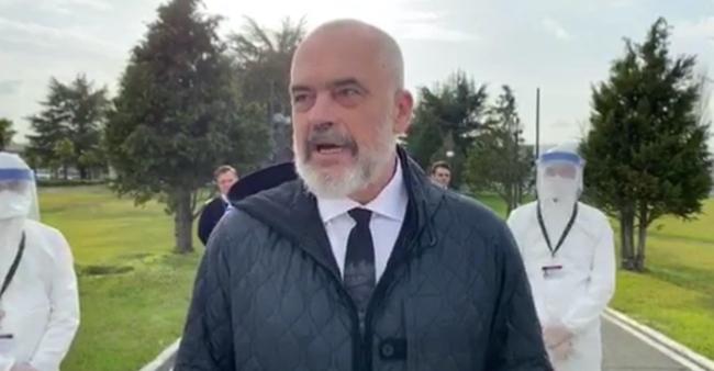 discorso premier albanese