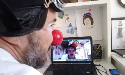 Bambini ricoverati, videochiamate dei clown per portare allegria ai piccoli