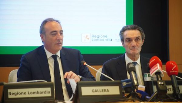 Conferenza Regione Gallera Fontana