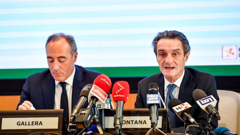 Conferenza Regione Fontana Gallera
