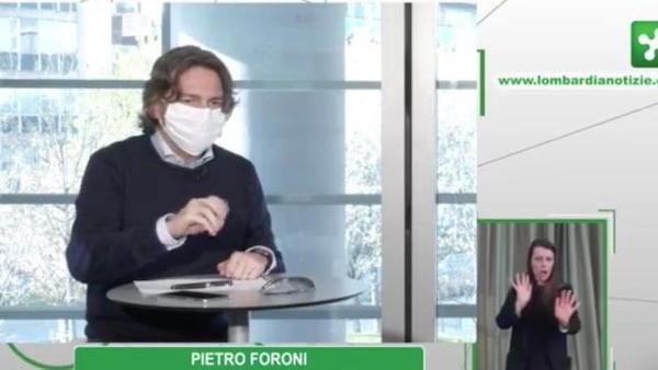 Conferenza Regione Lombardia foroni