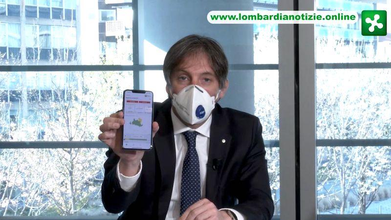 Conferenza Regione Lombardia Sala