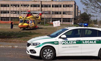 Donna gravemente ustionata in casa a Pieve, interviene l'elisoccorso