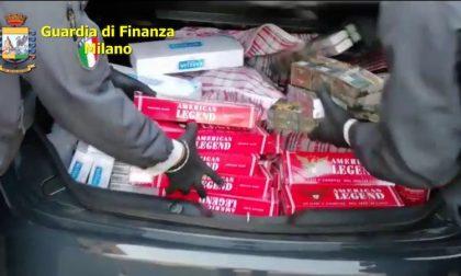 La Guardia di Finanza sequestra 23 chili di sigarette di contrabbando