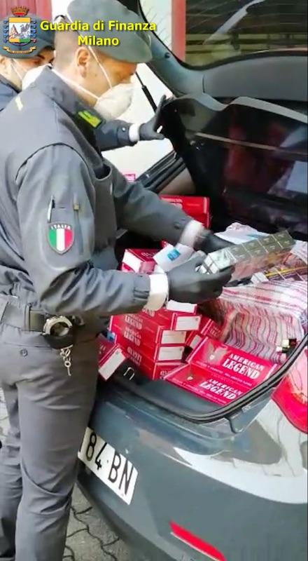 sequestro sigarette contrabbando