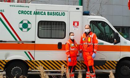 Da Basiglio a Bergamo, la Croce Amica in prima linea nell'emergenza