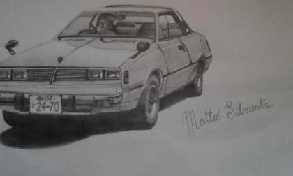 Talenti del territorio, Le auto disegnate da Matteo, 15enne speciale di Trezzano