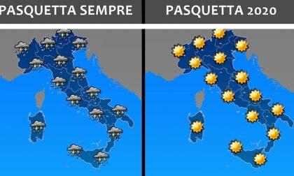 PREVISIONI METEO / Nel weekend cieli sereni e temperature gradevoli ma mi raccomando… restate a casa!!!