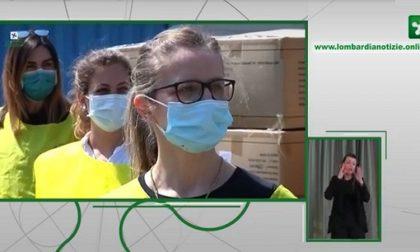 Il bollettino di oggi: 1.073 contagiati, calano le terapie intensive. Il punto sulle mascherine