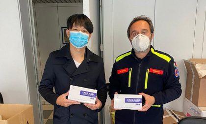 Ono Sushi regala 2mila mascherine a Comune e forze dell'ordine