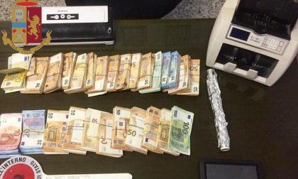 In casa droga e 120mila euro: arrestati padre e figlio e indagata la madre
