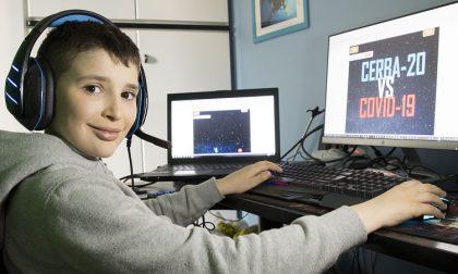 Il videogioco creato da Lupo, 9 anni, per combattere il coronavirus. FOTO