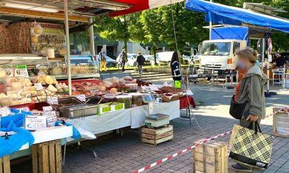 A Rozzano riaperti i mercati comunali: distanziamento e monitoraggio degli ingressi