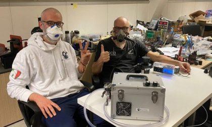 Due piccoli imprenditori bergamaschi hanno inventato il ventilatore polmonare low cost e condiviso