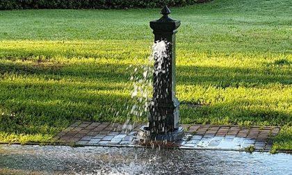Vandalizzate le fontanelle nei parchi, serviranno 2mila euro per ripararle