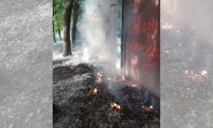 Odore di bruciato in città: pollini incendiati al Parco 1 di Rozzano