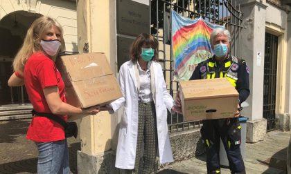 Solidarietà dai terremotati di Accumoli: mille mascherine donate a Sacra Famiglia