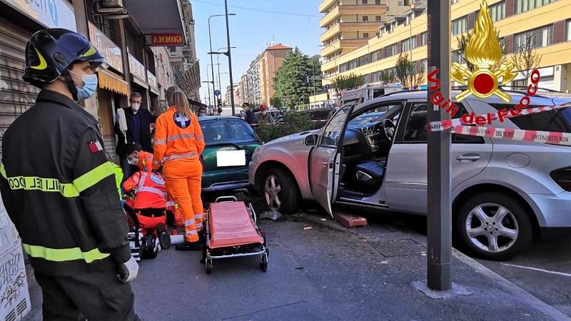 incidente cinque macchine