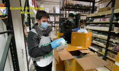 Mascherine distribuite illegalmente: maxi sequestro della Guardia di Finanza