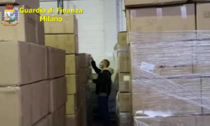 Operazione della GdF: maxi sequestro di 360mila mascherine illegali