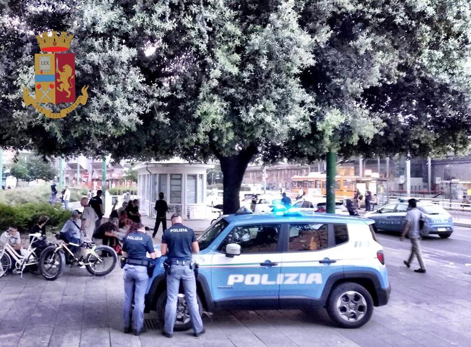 Controlli piazza Bottini