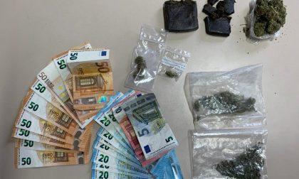 Droga in tasca e nascosta in camera da letto: arrestato 22enne