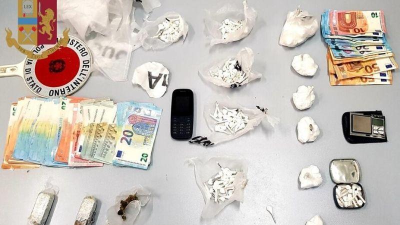 polizia arresta spacciatori