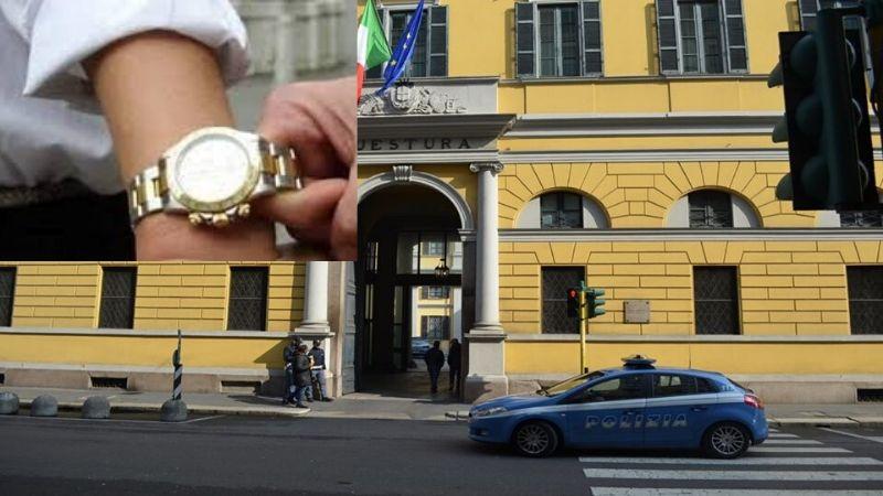 Ladro ruba orologio