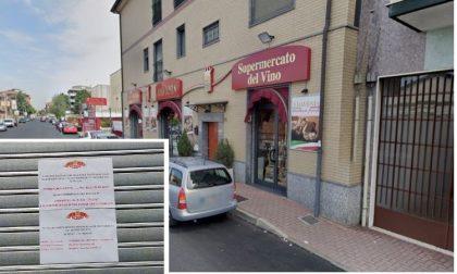 Irregolarità amministrative: il Comune chiude il negozio Davenia