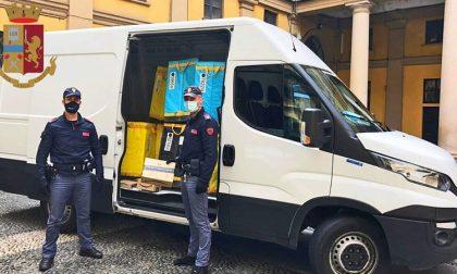 Ladro ruba furgone, rintracciato grazie al cellulare lasciato sul mezzo dal corriere