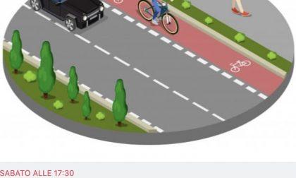 Una biciclettata a Corsico per chiedere più piste ciclabili sul territorio