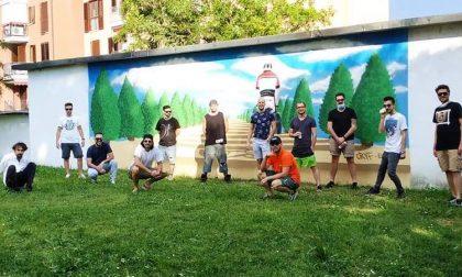 Il murale in ricordo di Daniele, a due anni dalla tragica scomparsa