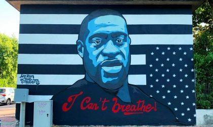 """Murale su George Floyd contestato, FdI: """"Un disegno da centro sociale"""""""